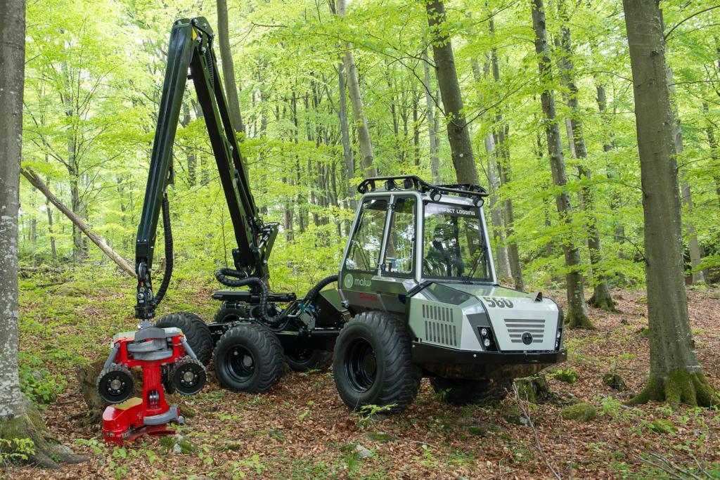 560H – Harvester mit LogMax 928A Aggregat -2